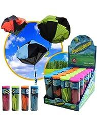 Moppi Juguetes educativos divertido tirar juguetes paracaídas de los niños al aire libre