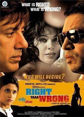 Right Yaaa Wrong / Kisaan / Yeh Mera India (3 DVD Packs) by Sunny Deol