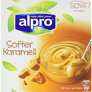 Alpro Soya Dessert softer Karamel, 6er Pack  (6 x 4 x 125g)