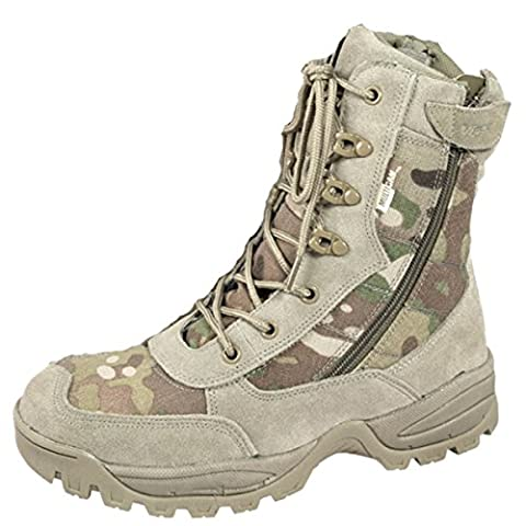 Viper Multicam Special Ops Patrol Boots Desert Camo Mtp Combat Army Military (UK 11)