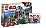 LEGO Star Wars 75200 Ahch-To Island Training + 30497 First Order Schwerer Assault Walker