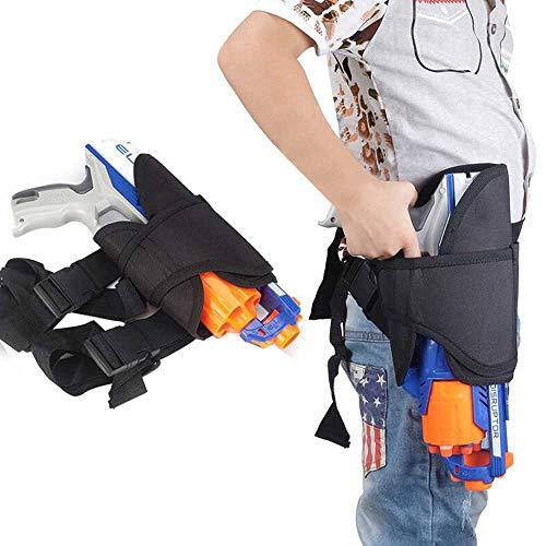 Pawaca Kinder-Taille-Beinholster-Tasche für Nerf-Waffen N-strike Elite Series Blaster -