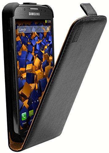 mumbi PREMIUM Leder Flip Case für Samsung Galaxy S4 Active Tasche - NUR für S4 ACTIVE / Nicht für normales S4 (Samsung Tasche Handy Für Active 4)