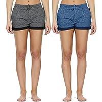 28e7e1abcd505b icyzone Sweatshorts Kurze Sporthose Damen - Gym Hot Pants Jogger Yoga Kurz  Hose Sport Shorts