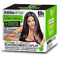 TH Pharma Keravital KIT Alisado Capilar, 1Ud+ Regalo Pack Mantenimiento, 1U