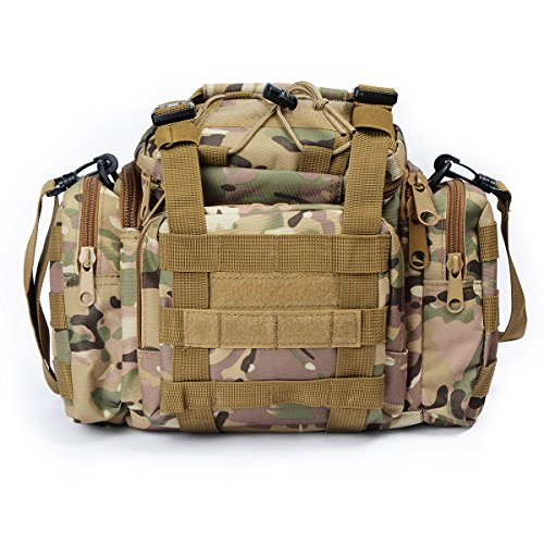 Imagen de g4free  asalto táctico utilidad paquete de la cintura bolsa campo militar bolsa para deportes al aire libre camping transporte senderismo alternativa
