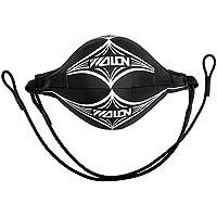 BigTron Saco de boxeo Bola de velocidad para Entrenamiento de Boxeo MMA (Negro)