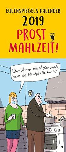 Eulenspiegels Postkartenkalender 2019 Prost Mahlzeit VE 5 Exemplare