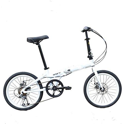 MASLEID 20 pouces vélos pliants aluminium Hommes et femmes Mountain Bike