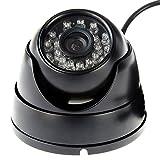 ELP Webcam Nachtsicht Vandalensicher 720P IR LED Outdoor Kamera USB Dome Überwachungskamera HD für Industrial Security, Haustier-Monito