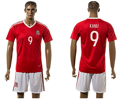 2016-popular-galles-9-hal-robson-kanu-home-football-jersey-in-rosso-uomo-red-m
