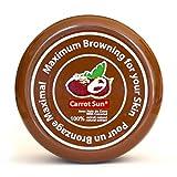 carota di Sun® di noce di cocco acceleratore abbronzatura Abbronzante Crema con Olio di Cocco e l Tirosina per una rapida e goldbraune braeunung. 350ML
