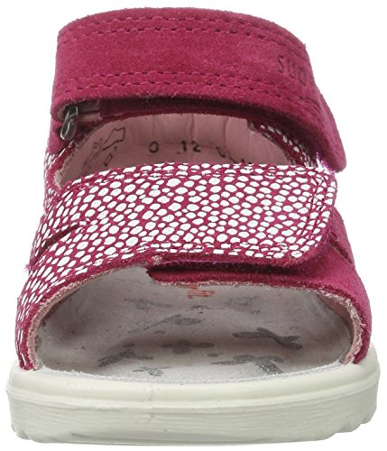 Superfit Lettie, Sandales  Bout ouvert fille Pink (pink Kombi)