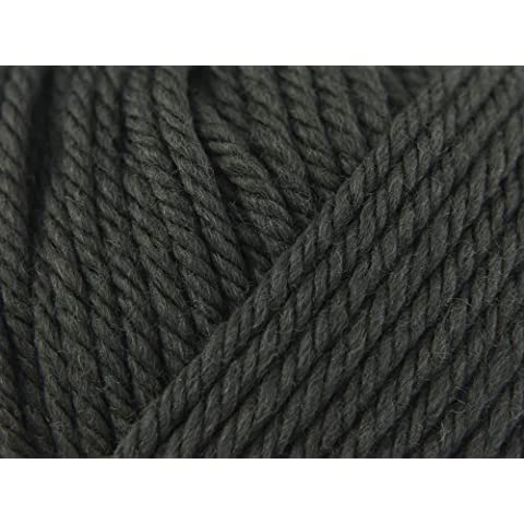 Debbie Bliss CASHMERINO ovillo de lana, lana, gris, verde