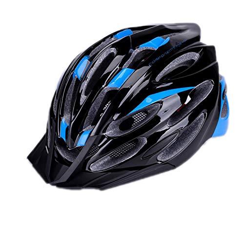 LTK one Casco de Bicicleta, Casco de montaña, Casco de Carretera, Casco de Seguridad para Hombres y Mujeres y mosquitera, Material PC + Eps