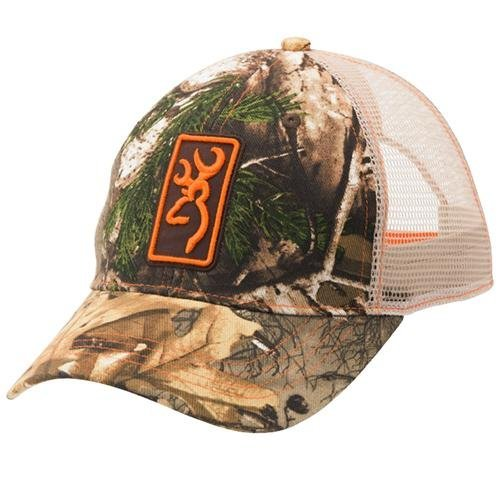 Browning Cap,Conway/Mshbk Rtx/Orange (308175721) by Browning Browning-twill Cap