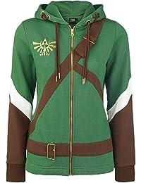 Officiel Womens Legend of Zelda, Link Cosplay Costume Style Hoodie