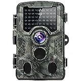 Distianert 16MP 1080p Trail Game Wildlife camera per il controllo e la casa di sorveglianza di sicurezza-nero