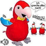 Nach sprechender - Papagei / Vogel / Ara -  Ich Spreche Alles Nach & bewege m..