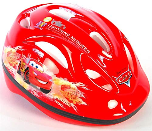 Disney volare00496Volare Cars Kinder Deluxe Fahrrad Skate Helm