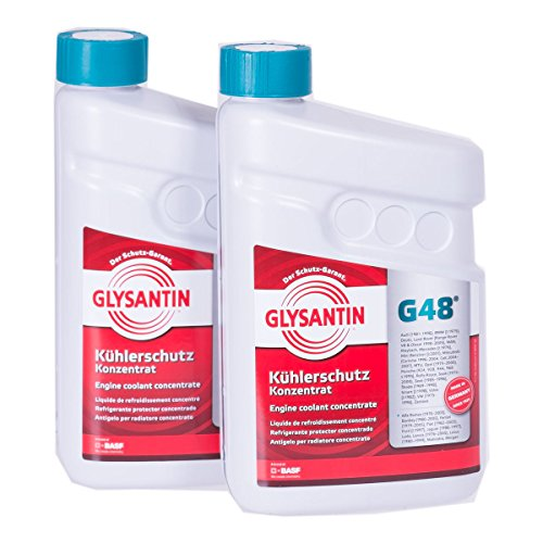 BASF Glysantin G48 - Concentrated protective refrigerant, 1,5 L, 2 units