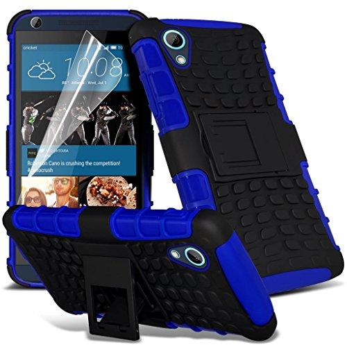 Étui pour HTC Desire 626 / HTC Desire 626 E5603, E5606, E5653 Titulaire de téléphone Case voiture universel Mont Cradle Tableau de bord et pare-brise pour iPhone yi -Tronixs Bleu