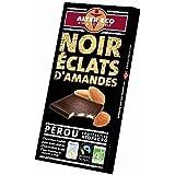 Alter éco chocolat noir éclats d'amandes bio 100g - ( Prix Unitaire ) - Envoi Rapide Et Soignée
