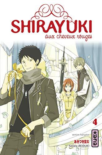 Shirayuki aux cheveux rouges, tome 4 par Sorata Akiduki