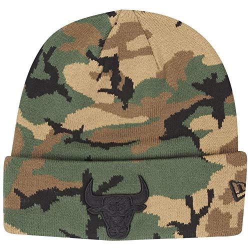 New Era Herren Accessoires / Beanie NBA Camo Chicago Bulls Knit camouflage one size - Camo Knit Beanie