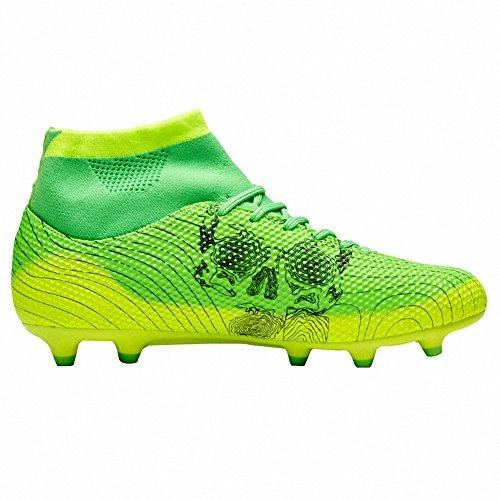 Ben Sports Unisex Orange AG FG Fußball-Trainingsschuhe Fußballschuhe Football Schuhe der Herren Jungen,33-45
