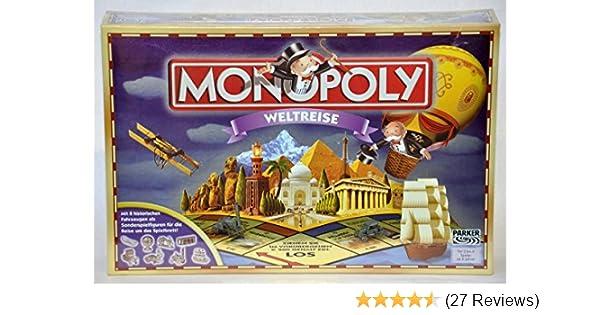 Hasbro 48285100 - Monopoly Weltreise: Amazon.de: Spielzeug