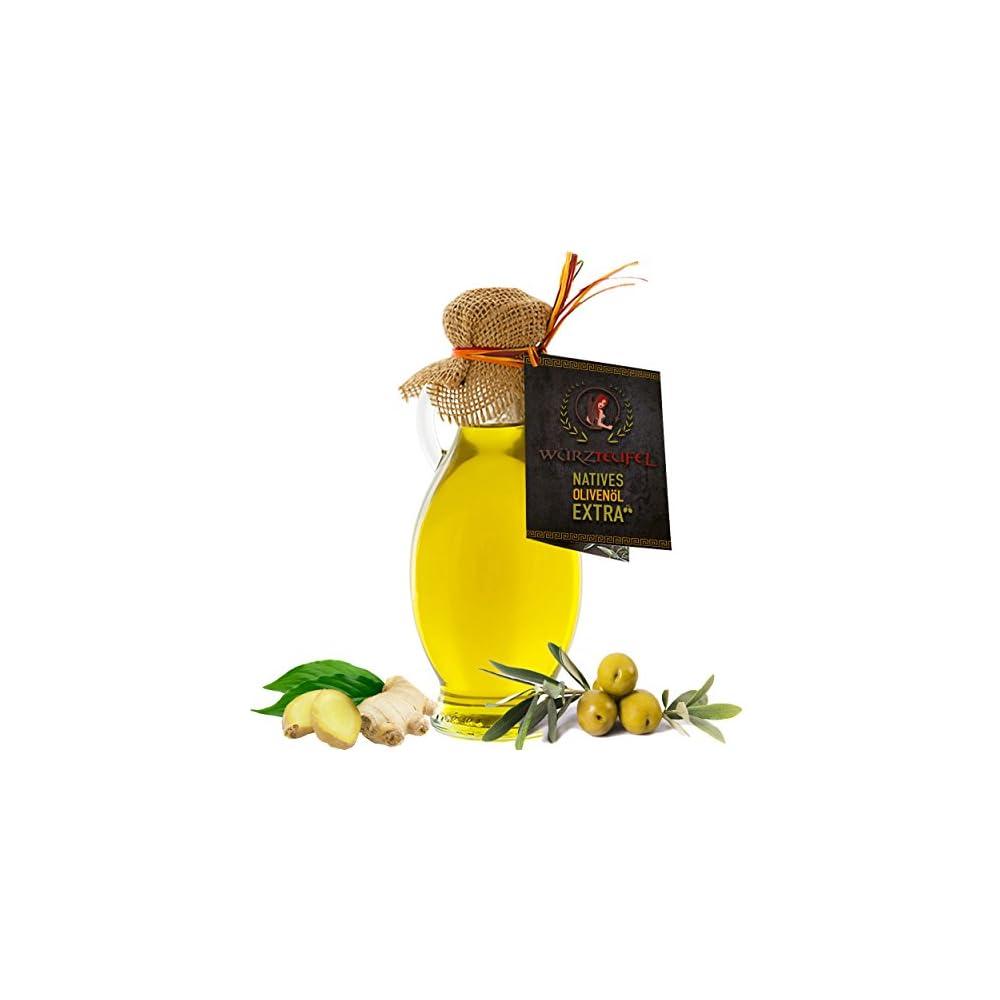 Ingwerl Natrliches Ingwer L Aus Nativem Extra Vergin Olivenl Griechenland Ungefiltert Kaltgepresst Amphore Irgizia Flasche 250ml