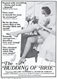 The Budding of Brie Plakat Movie Poster (11 x 17 Inches - 28cm x 44cm) (1980)