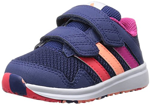adidas Performance Unisex Baby Snice 4 Sneaker, Mehrfarbig (Raw Purple S16/Eqt Pink S16/Sun Glow S16), 23 EU (Freizeitschuh Performance)