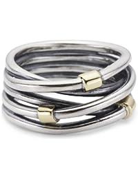 Pandora-190383-Ring-Sterling-Silber-mit-14K-Gold-oxid