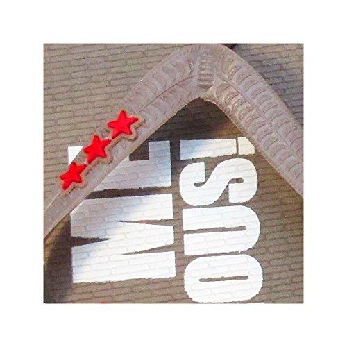 F*** Me I'm Famous: Logo Classico Infradito Donna Marrone