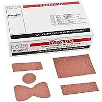 Steroplast Premium Textilpflaster, 5 Größen, 100 Stück preisvergleich bei billige-tabletten.eu