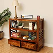 Hariom Handicraft KendalWood Furniture Solid Wood Console Table with Drawer | Kitchen Rack | Book Shelves - Ho
