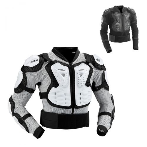 Fox Titan Sport Jacket Men black Größe S 2016 Oberkörperprotektoren (Jersey Racing Mesh Fox)