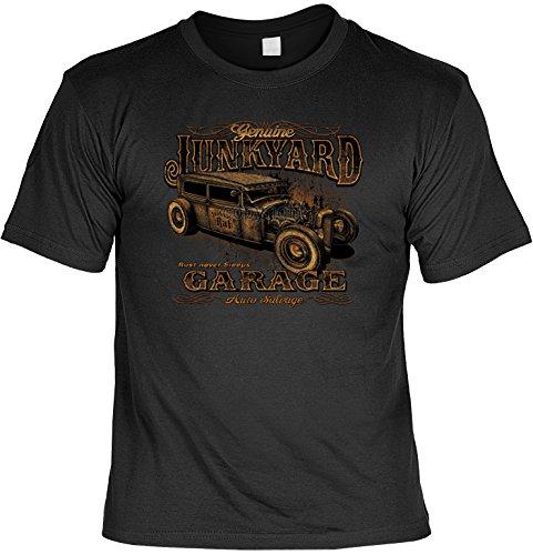 Vintage T-Shirt Junkyard Rockabilly T-Shirt Pin Up Rat Pinup Herren T-Shirt American Laiberl Leiberl Hot Rod Oldschool