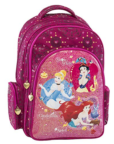 Princesse Disney Cartable, 43 cm, Fuchsia