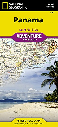 Panama: Travel Maps International Adventure Map: NG.AM3101