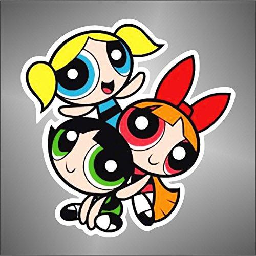 Adesivo Super Chicche comics cartoon cartoni animati sticker