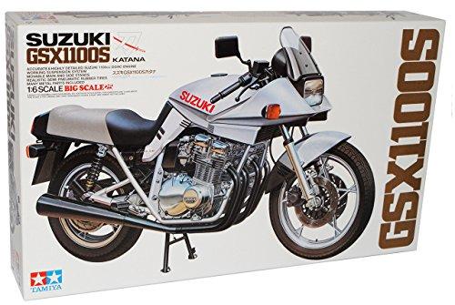 TAMIYA Suzuki GSX1100S Katana 1980 Kit Bausatz 1/6 Modell Motorrad Modell Auto