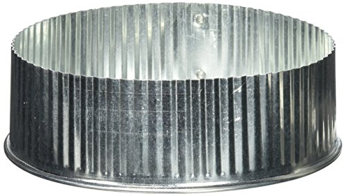 IMPERIAL MFG GROUP USA INC - 6-Inch Galvanized Round End Cap