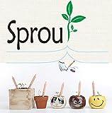 Fancyus Sprout - Set di matite piantabili con semi
