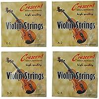 Completo Juego Acero Musical Violín Cuerdas E1 A2 D3 G4 De Recambio