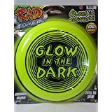 Rad Flyer Rad Flyer Glow In The Dark Green Frisbee With Words Flying Disc Toy