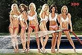 Girls - Zoo Hose - Akt Poster Erotik Poster nackte hot Girls schöne Frauen - Grösse 91,5x61 cm
