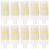 10er LED Lampen G4 Pin Stiftsockel Lampe 5W,40 Watt Ersatz,36 SMD 2835Warmweiß 3000K,AC DC 12V